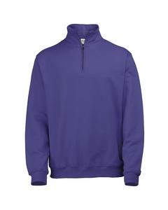 Awdis Herren Sweatshirt / Pullover mit Reißverschluss am Kragen