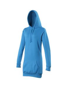 Awdis Girlie Damen Kapuzen Pullover extra lang