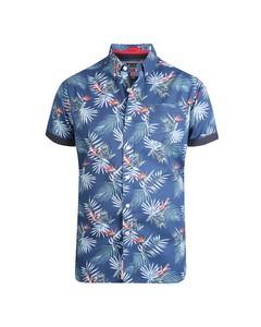 Duke Mens Reuben Kingsize Hawaiian Leaf Shirt