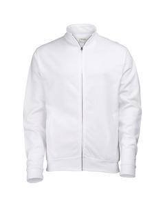Awdis Herren Sweatshirt mit durchgehendem Reißverschluss