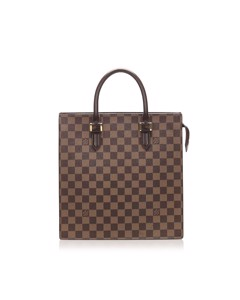 Louis Vuitton Damier Ebene Venice Sac Plat Brown