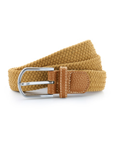 Asquith & Fox Mens Woven Braid Stretch Belt