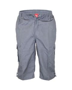 Duke Mens Mason Kingsize Cargo Capri Shorts