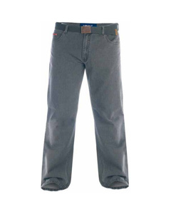 Duke London Mens Kingsize Canary Bedford Cord Trousers With Belt