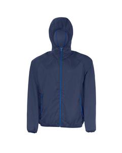 Sols Unisex Shore Water Resistant Packaway Windbreaker Jacket