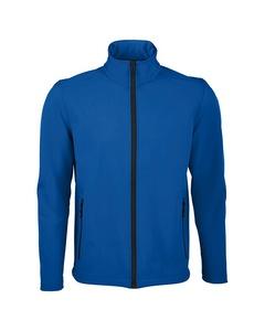 Sols Mens Race Full Zip Water Repellent Softshell Jacket