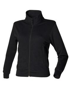 Skinni Fit Damen Jacke / Sweatshirt-Jacke Essential