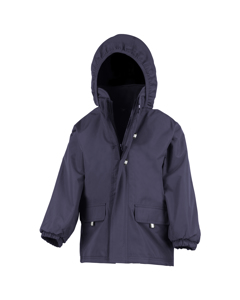 Result Childrens Unisex Rugged Stuff Long Lined Hooded Coat
