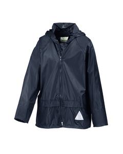 Result Childrens Unisex Heavyweight Waterproof Rain Suit (jacket & Trouser Suit)