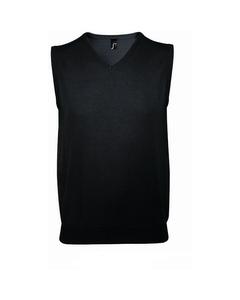 Sols Unisex Heren Mouwloze V Hals Trui Vest