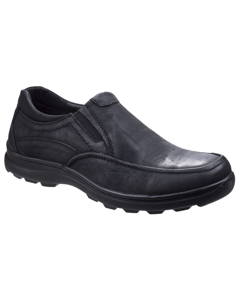 Fleet & Foster Mens Goa Leather Slip-on Shoes