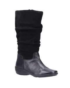Fleet & Foster Womens/ladies Margot Mid Suede Boot