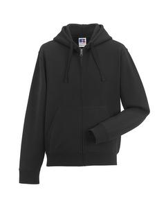 Russell Mens Authentic Full Zip Hooded Sweatshirt / Hoodie
