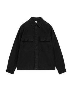Moleskin Overshirt Black
