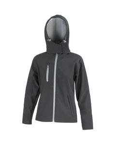 Result Core Lite Damen Softshell-Jacke mit Kapuze