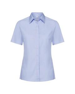 Russell Lady Short Sleeve Stretch Moisture Management Work Shirt