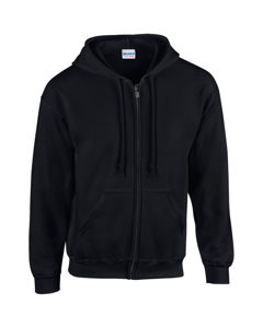 Gildan Heavy Blend Unisex Adult Full Zip Hooded Sweatshirt Top