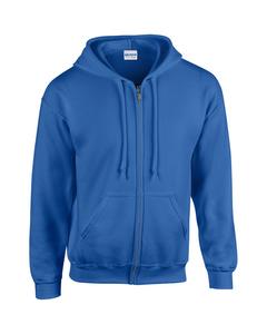 Gildan Zware Blend Unisex Adult Full Zip Hooded Sweatshirt Top
