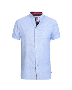 Duke Mens Brixton-2 Kingsize Linen Blend Shirt