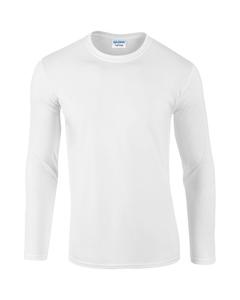 Gildan Heren Zachte Stijl Lange Mouw T-shirt