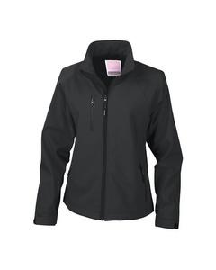 Result Damen La Femma® Softshell-Jacke, 2-lagig, atmungsaktiv, winddicht