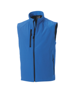 Russell Mens 3 Layer Soft Shell Gilet Jacket