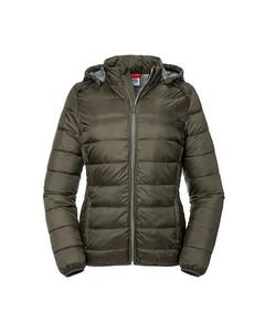 Russell Womens/ladies Ladies Hooded Nano Jacket