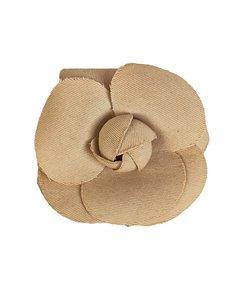 Chanel Vintage Ivory Camelia Camellia Flower Pin Brooch