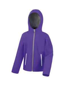 Result Core Kids Unisex Junior Hooded Softshell Jacket