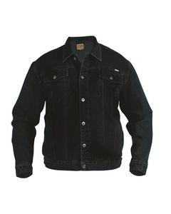 Duke Mens Western Trucker Style Denim Jacket