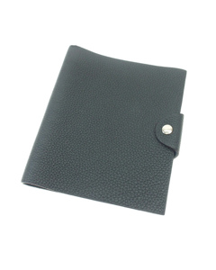 Hermes Togo Ulysse Mm Agenda Cover Black