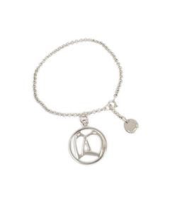 Hermes Stirrup Bracelet Silver