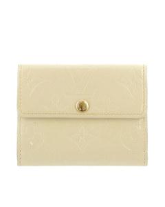 Louis Vuitton Vernis Ludlow Coin Pouch White