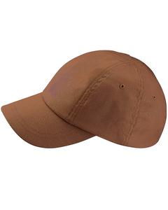 Beechfield Unisex Organic Cotton 6 Panel Baseball Cap (pakket Van 2)