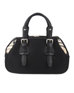 Burberry Nylon Handbag Black