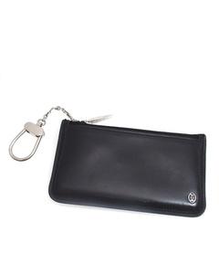 Cartier Pasha Leather Coin Purse Black