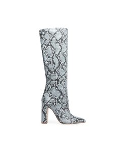 Rouge Boot Blue Snake