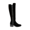 Giselle Boot  Black Suede