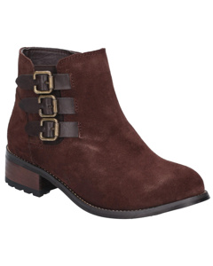 Divaz Womens/ladies Lexi Slip On Buckle Boot