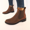 Ankle Leather Boots