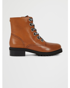 Lindia Ankleboot Cognac Leather
