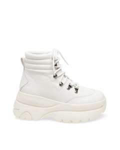Husky Boot White Leather