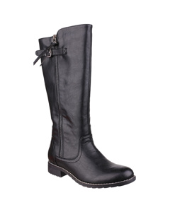 Divaz Womens/ladies Bari Knee High Boots