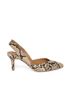 Monet Pumps Tan Snake