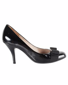 Carla Black Patent Pumps