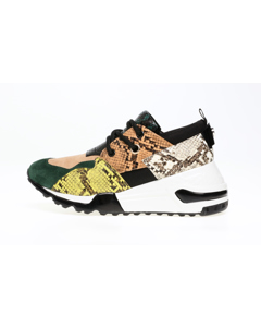 Cliff Sneakers E Green Snake