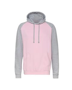 Awdis Just Hoods Unisex Kapuzen-Sweatshirt, zweifarbig