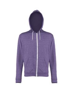 Awdis Heren Heather Lightweight Hooded Sweatshirt / Hoodie / Zoodie