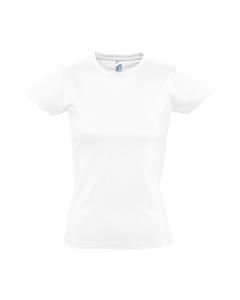 SOLS Imperial Damen T-Shirt, Kurzarm, Rundhalsausschnitt