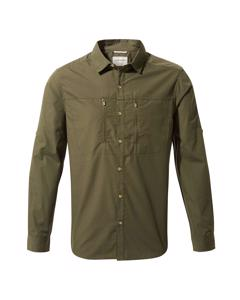 Craghoppers Heren Kiwi Boulder Long Sleeved Shirt